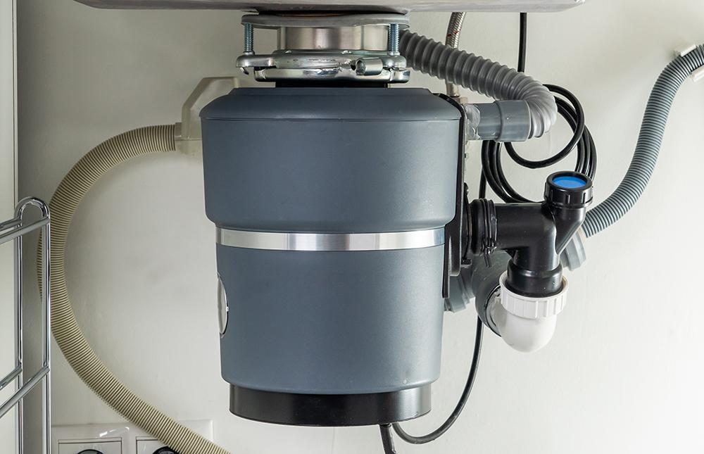 garbage disposal reset button